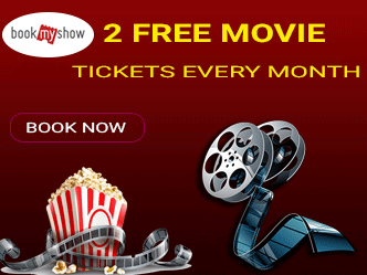 2 FREE MOVIE TICKETS EVERY MONTH