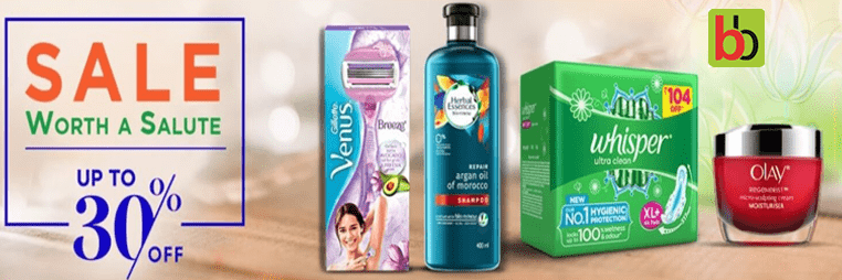 Big Basket Personal Care Sale